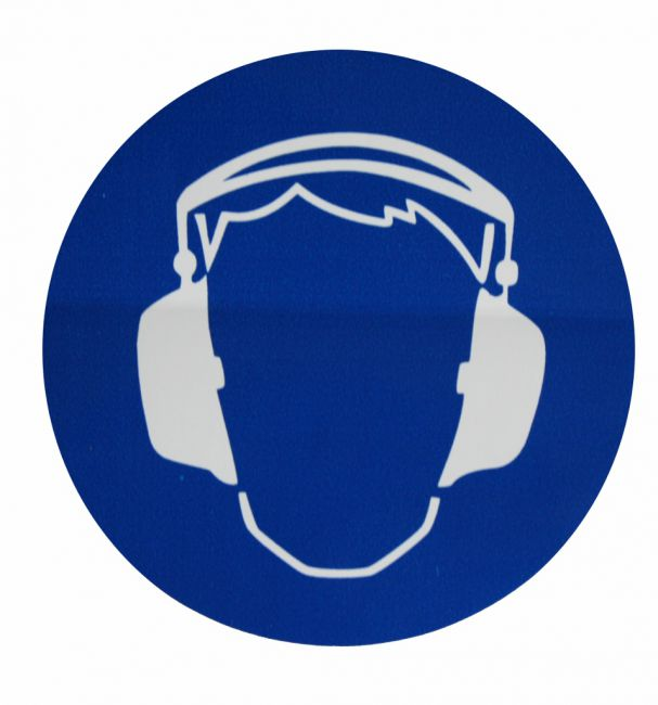 Autocollant portez un casque anti bruit for Moquette anti bruit