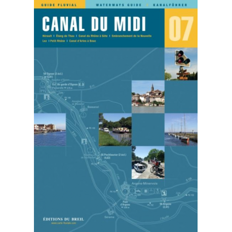 Carte n°7 CANAL du MIDI