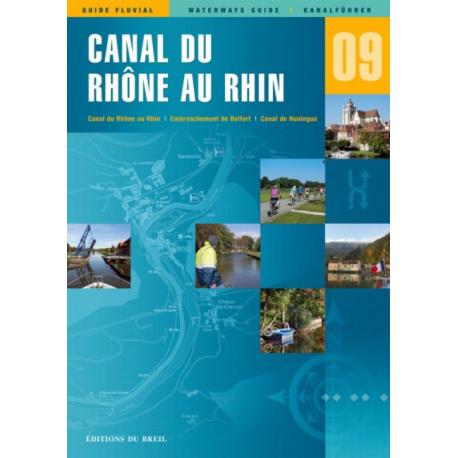 Carte n°9 Canal du Rhône au Rhin