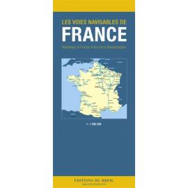 Carte des voies navigables de France