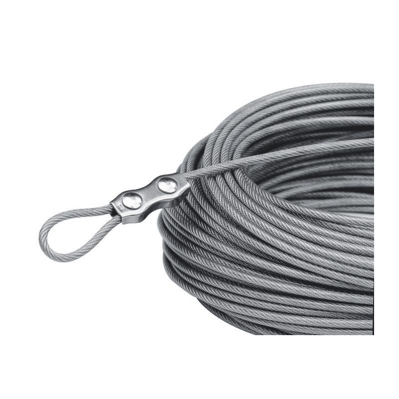 cable gaine plastifi e max guerdin. Black Bedroom Furniture Sets. Home Design Ideas