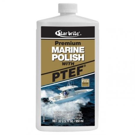 Polish teflon marine