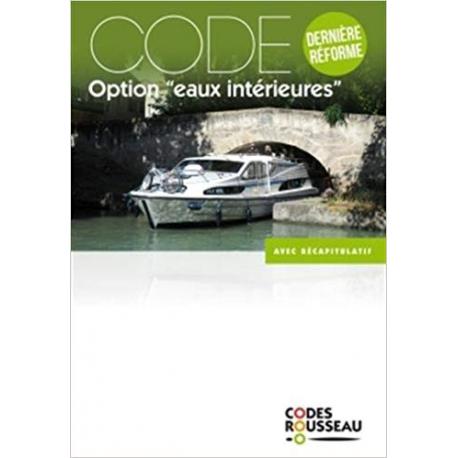 """Code Rousseau """"option eau intérieur"""""""