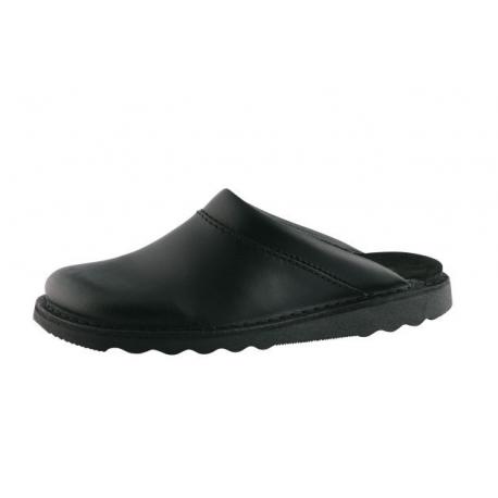 Chaussure muil en cuir