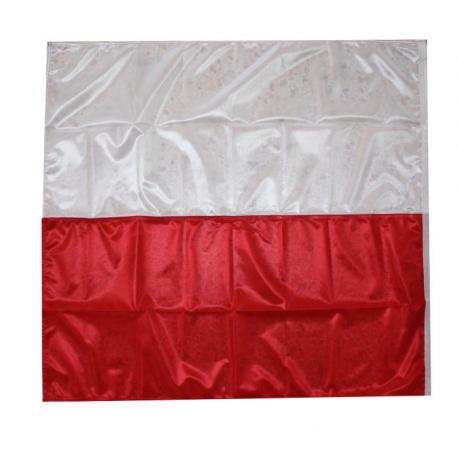 Drapeau rouge et blanc