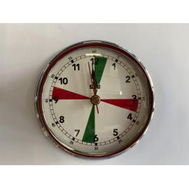 Horloge en chrome 95mm