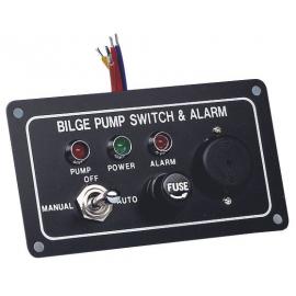 Boitier de commande de pompe de cale avec alarme