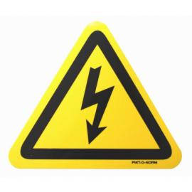 Autocollant danger électrique