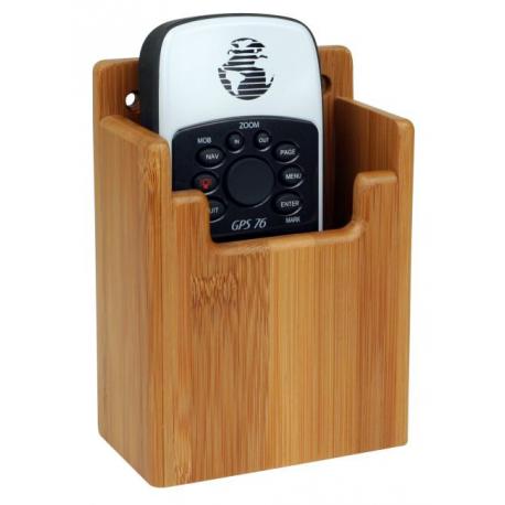 Support pour GPS ou VHF en bambou