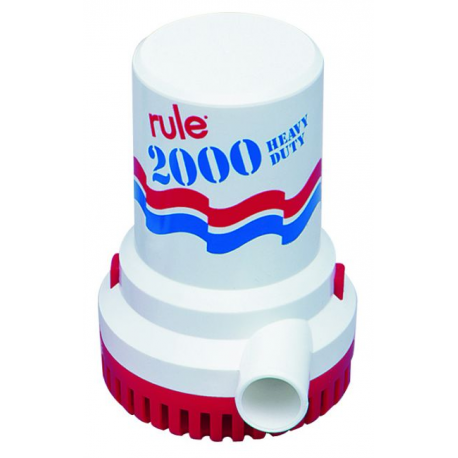Pompe de cale RULE 2000 non automatique