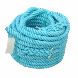 Corde polyethylène verte 4 torons (bobine)