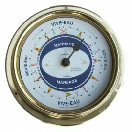 pendule de marnage eau vive/eau morte
