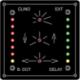 Clinomètre indicateur de gite + rail à leds