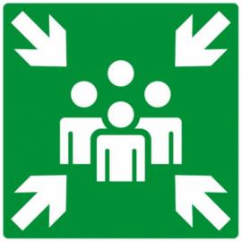 Autocollant point de rassemblement