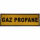 Autocollant gaz propane