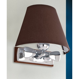 Lampe applique chromé